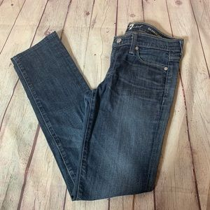 7 For All Mankind Roxanne Skinny Jean Size 26